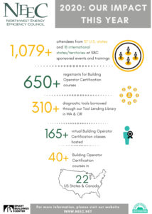 Infographic: Our Impact for the year 2020